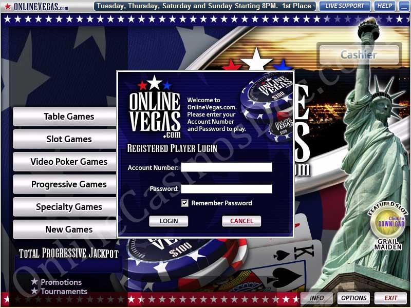 online vegas casino book fra