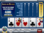 Video Poker at Sloto'Cash Casino
